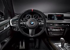 BMW to Offer M Performance Parts, Accessories for 2014 - MotorTrend Bmw X5 2017, Bmw X5 M, Bmw M6, Bmw X5 Review, Bmw New Cars, Bmw Interior, Interior Design, Bmw Performance, Shopping
