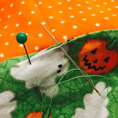 Sewing up the lining on Kendall's trick or treat bag today!  Happy Saturday!! #etsy # #mycreativebiz #fabric #pumpkins #trickortreat #halloween #halloweenbag #capturingcolor #creativelifehappylife #homeinthestudio #holidayspiritsdecor #hsd_pumpkinpatch #makeitsewcial #sewing