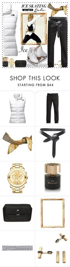 """Untitled #22"" by highfashion54 ❤ liked on Polyvore featuring The North Face, Quiksilver, Proenza Schouler, Isabel Marant, Movado, Tiziana Terenzi, Porsche Design, Ice, Cartier and iceskatingoutfit"