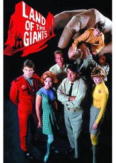 Land of the Giants - Terra de Gigantes Photo Vintage, Vintage Tv, Great Tv Shows, Old Tv Shows, Mejores Series Tv, Childhood Tv Shows, 1980s Childhood, Vintage Television, Sci Fi Tv