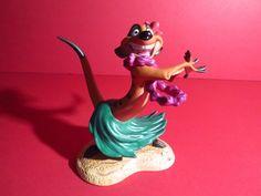 """WDCC Disney The Lion King Timon """"Luau """"   eBay"""