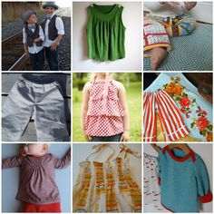 kids clothes tutorials -