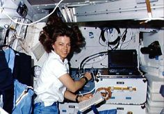 On October 30, 1985, astronaut Bonnie Dunbar  (Sigma Iota-Washington) became the first Kappa Delta in space. Among the items she took with her on her first space shuttle mission were a KD badge and flag which now reside in the National Headquarters museum.