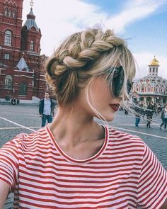 Braided crown | blond hair | Hair styles to try |  Braids hairstyles for school | Braided hairstyles | Hair inspiration | Trending in Hair & Beauty | Hair trends