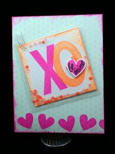 A late Valentine - Pocket Card!