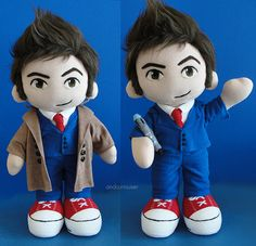 The tenth Doctor plushy!! I wanna cuddle with Ten!!!