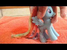 Como hacer que el pelo de tu pony este suave :)