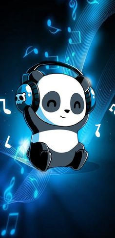 33 Ideas For Wallpaper Phone Anime Flower Cute Panda Wallpaper, Funny Phone Wallpaper, Bear Wallpaper, Cute Disney Wallpaper, Galaxy Wallpaper, Flower Wallpaper, Cute Panda Drawing, Cute Animal Drawings, Cute Drawings