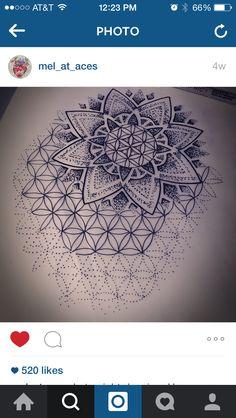 Flower of life White Mandala Tattoo, Geometric Sleeve Tattoo, Mandala Tattoo Design, Tattoo Sleeve Designs, Sleeve Tattoos, Flower Cover Up Tattoos, Flower Of Life Tattoo, Cover Tattoo, Buddha Tattoos