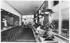 Home - Forton Services // When dining at the services was a real event...