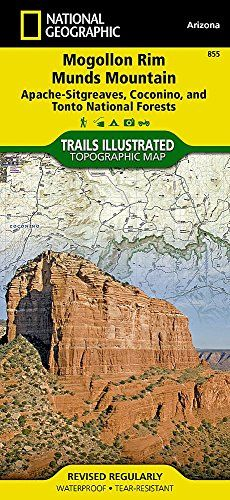 Mogollon Rim Munds Mountain ApacheSitgreaves Coconino and Tonto National Forests National Geographic Trails Illustrated Map >>> Be sure to check out this awesome product.