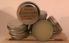 Mango Cuticle Cream by HalfAcreEden on Etsy