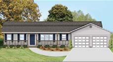 Westchester by Wardcraft Homes Ranch Floorplan