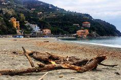 Oggi la spiaggia è tutta per noi...  #Levanto #VisitLevanto #CinqueTerre #Liguria by visitlevanto