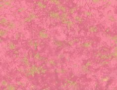 "Pink Blotchy Gold Fabric - Kona Bay 2007 EMPR 21 - Only 34"" x 44"""