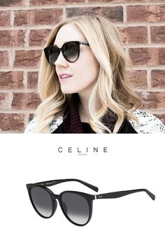 Amazing woman fashion with Céline Thin Mary sunglasses. Pic: @daintygirl. http://www.smartbuyglasses.com/designer-sunglasses/Celine/Celine-CL-41068/S-Thin-Mary-807/W2-228013.html