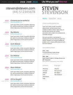 10 beautiful resume html templates - Resume T