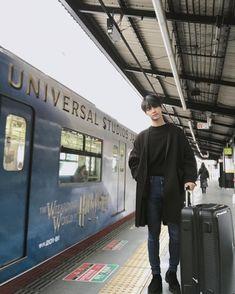 """achahakyeon """"오늘의 기록_20171216 오사카 안녕~ 교토로 출발  #교토 #기차여행"""""""