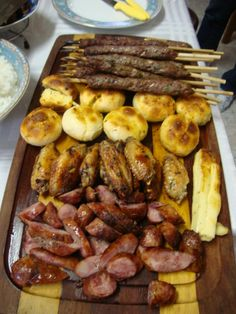 Churrasco, typical Brazilian food