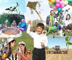 Celebration of Navruz holiday(March 21)