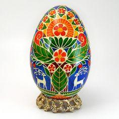 The Tree of Life - Real Handmade Traditional Ukrainian Goose Egg | Flickr - Photo Sharing!