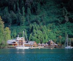 Slip between the fjords in Patagonia while staying at Puyuhuapi Lodge and Spa #travel #Patagonia