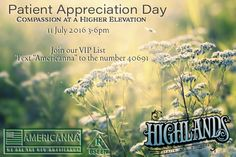Another awesome Patient Appreciation day at Highlands Health and Wellness. #Americanna #mmj #vaporizers