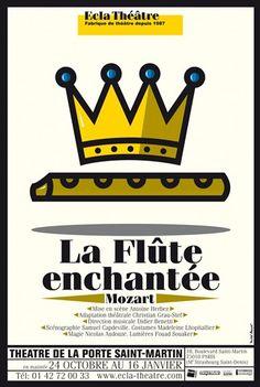 Michel Bouvet, La flûte  enchantée