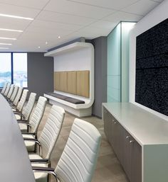 conference room with curved walls Office Space Design, Office Interior Design, Corporate Interiors, Corporate Design, Commercial Interior Design, Commercial Interiors, Shop Interiors, Office Interiors, Curved Walls