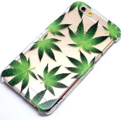 Cannabis Leaves Green Henna Style Phone Case iPhone 6, 6 Plus, 5, 5C,... ($15) ❤ liked on Polyvore featuring accessories, tech accessories and phone case