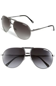 bae11ae6088 Carrera Eyewear Metal Aviator Sunglasses