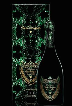 The new luxury champagne also comes with a limited edition gift box that accompanies the bottle of Dom Pérignon Vintage designed by Iris van Herpen. Vintage Champagne, Champagne Taste, Champagne Bottles, Dom Perignon, Dried Rose Petals, Iris Van Herpen, Veuve Clicquot, In Vino Veritas, Wine Making