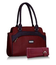 Fantosy Women's Maroon And Purple Handbag And Wallet Best Wallets For Women _ Stylish and Functional - shop with lust shopping in india Purple Handbags, Best Wallet, Womens Purses, Wallets For Women, Amazing Women, Gifts For Women, Messenger Bag, Satchel, Shoulder Bag
