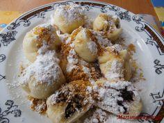 Martinina kuchyně: Jemné kynuté knedlíky s borůvkami
