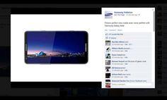 Galaxy Note 2 Facebook Sayfasında