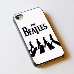 The Beatles in Abbey Road For Apple Phone, IPhone 4/4S Case, IPhone 5 Case, Cover Plastic
