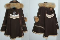 LUHKKA - www.design-rosberg.com Fur Coat, Culture, Costumes, Woman, Sewing, Jackets, Inspiration, Clothes, Collection