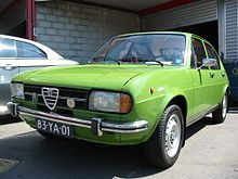 It was considered one of Alfa Romeo's most successful models, sold 893,719 examples from 1972 to 1983 plus 121,434 Sprint versions from 1976 to 1989.[5] A common nickname for the car is 'Sud. The car went through two facelifts, first in 1977 and the second one in 1980.