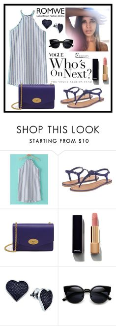 """""""Romwe"""" by love88-90 ❤ liked on Polyvore featuring Chinese Laundry, Mulberry, Chanel and BillyTheTree"""
