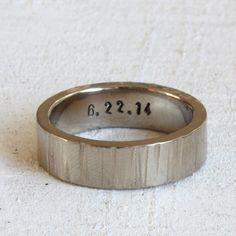 Gold Tree Bark Ring - praxis jewelry