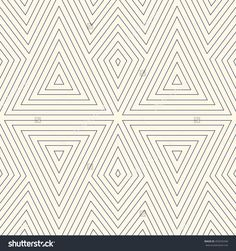 Outline ethnic abstract background. Seamless pattern with symmetric geometric ornament. Can be used for coloring books and pages, textile print, page fill. Vector illustration