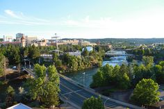 Spokane's urban downtown, balanced with the stunning Spokane River, creates a one-of-a-kind city scape.