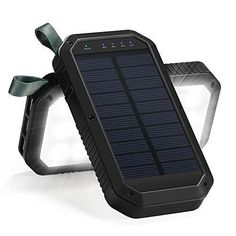 Solar Charger 8000mAh Power Bank Portable Battery Cellphone  IOS and Android NEW #SolarCharger