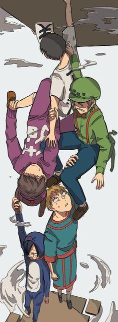 Human Fall Flat, Flat Drawings, Hinata, Illustration, Mosquitoes, Anime, Character, Twitter, Men