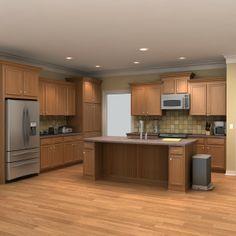 kitchen set 3d model | CS kitchens | Pinterest