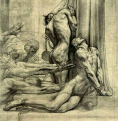 jpsx: Jean Delville – La Justice Chrétienne – Art Drawing Tips Jean Delville, Rose Croix, Academic Art, Anatomy Art, Classical Art, Christian Art, Gravure, Religious Art, Figure Drawing