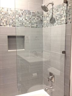 Look at this important picture and also take a look at the here and now ideas on Bathroom Remodel Ideas Small Shower Over Bath, Small Bathroom With Shower, Master Bathroom, Shower Remodel, Bath Remodel, Bathroom Interior Design, Bathroom Renovations, Amazing Bathrooms, Bathroom Inspiration