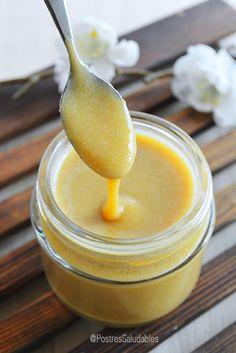 Postres Saludables | Dulce de leche saludable SIN COCINAR | http://www.postressaludables.com
