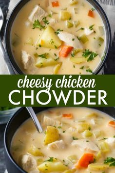 Cheesy Chicken Chowd