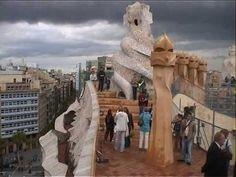 ▶ Casa MILA - La Pedrera Barcelona - Barcelona - Antonio Gaudi - YouTube